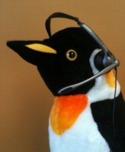 penguin headset