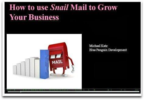 Snail Mail Webinar