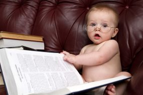 glasses baby